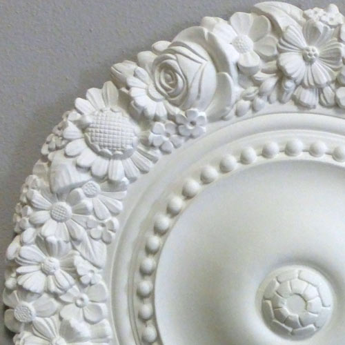 Stucco decorativo - Plafoniera da soffitto